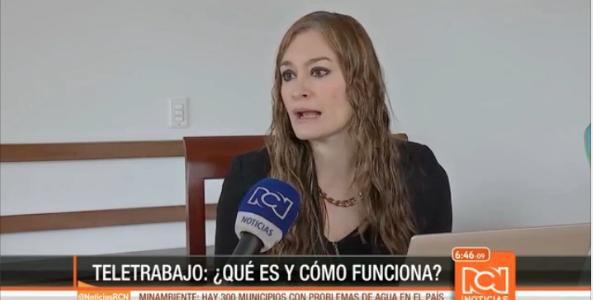 Teletrabajo en Colombia – Canal RCN