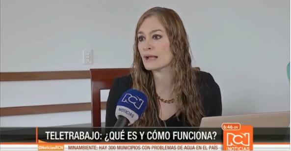 Martha Castellanos en RCN