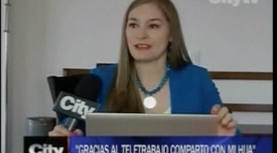 Entrevista sobre Teletrabajo – City Tv
