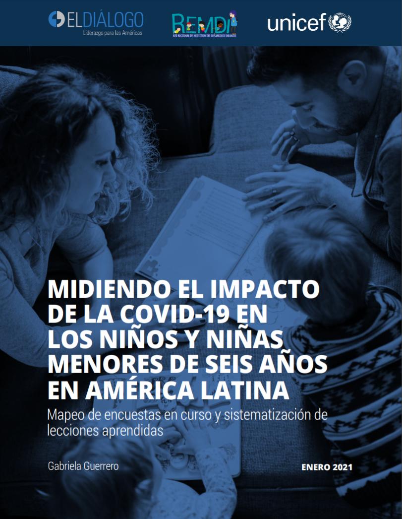Midiendo el impacto de la covid-19 en los niños y niñas menores de seis años en América Latina