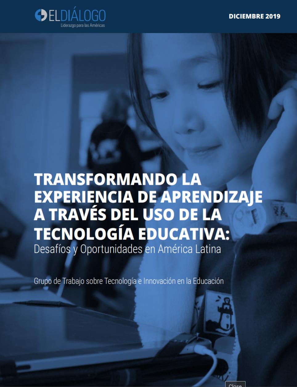 Transformando la experiencia de aprendizaje a través del uso de la tecnología educativa